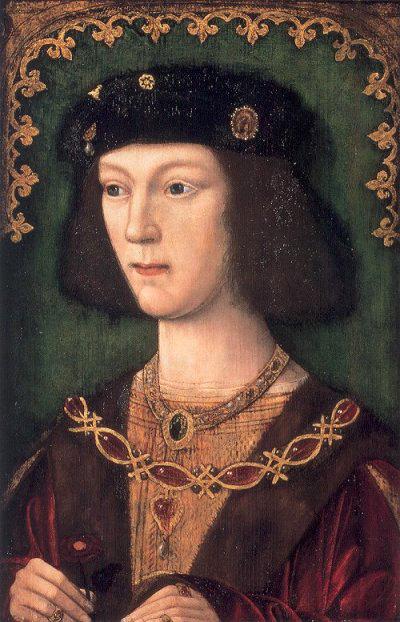 Генрих VIII в молодости, в год вступления на престол (1509 г.)