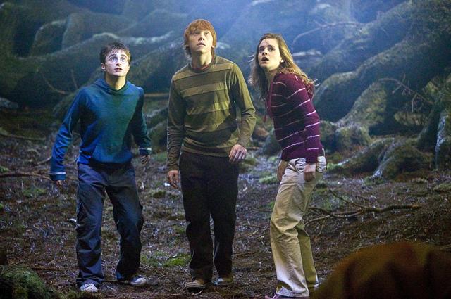 Кадр из фильма про Гарри Поттера.