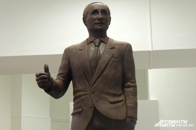 Фигура президента украсит Праздник шоколада.