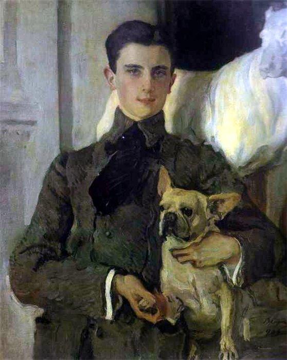 Портрет молодого князя очень понравился Сергею Дягилеву.