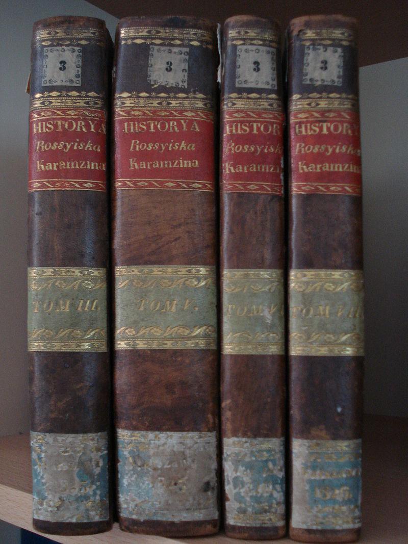 Первое издание «Истории» Карамзина на польском языке.