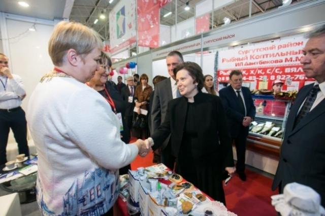 Выставку посетила губернатор автономного округа