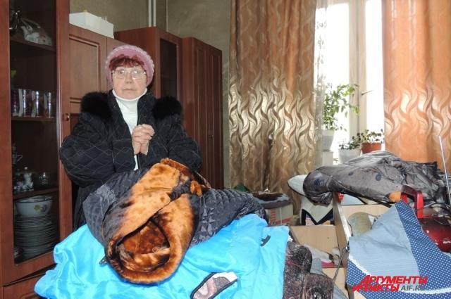 Алевтина Ивановна едва сама уцелела во время пожара.