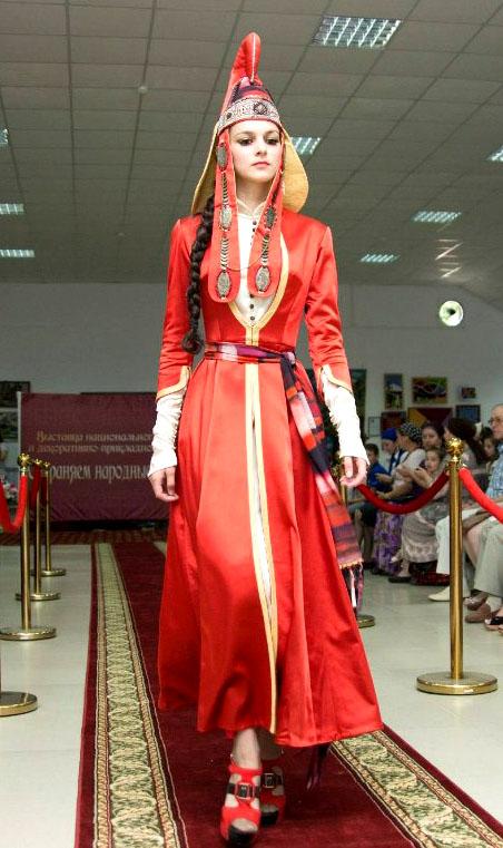 В традиционных ингушских нарядах сохранились элементы одеяния амазонок