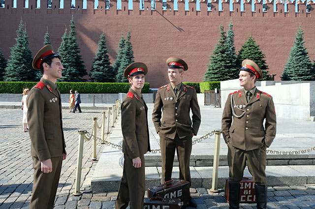 Кадр со съемок сериала «СССР».