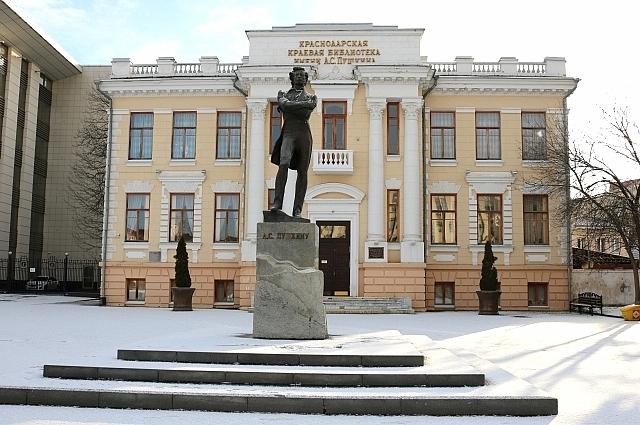 Краснодарская библиотека, 2020 год.