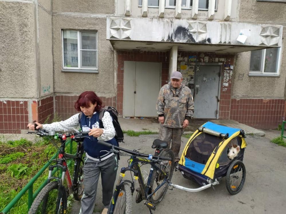 Челябинцы Евгения Радак и Михаил Кононов любят ездить на природу.