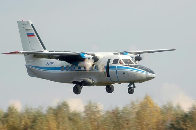 Чешско-российский самолёт L-410