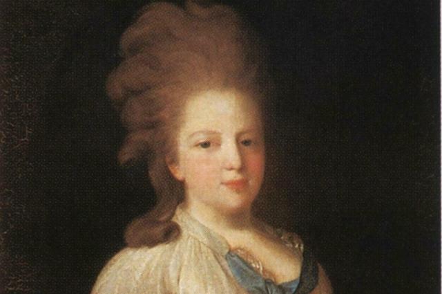 Мария Фёдоровна. Картина Фёдора Рокотова, 1770-е гг