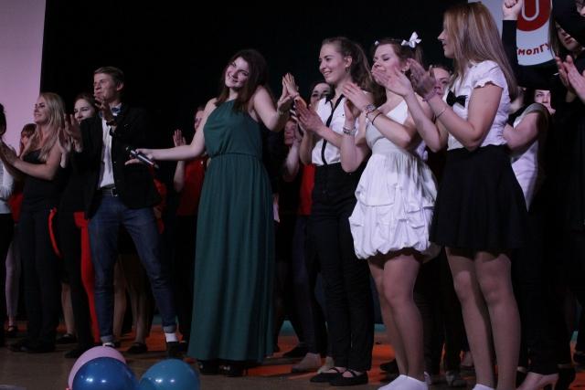 Рита - победительница конкурса «Студент года» в номинации «Общественная активность».