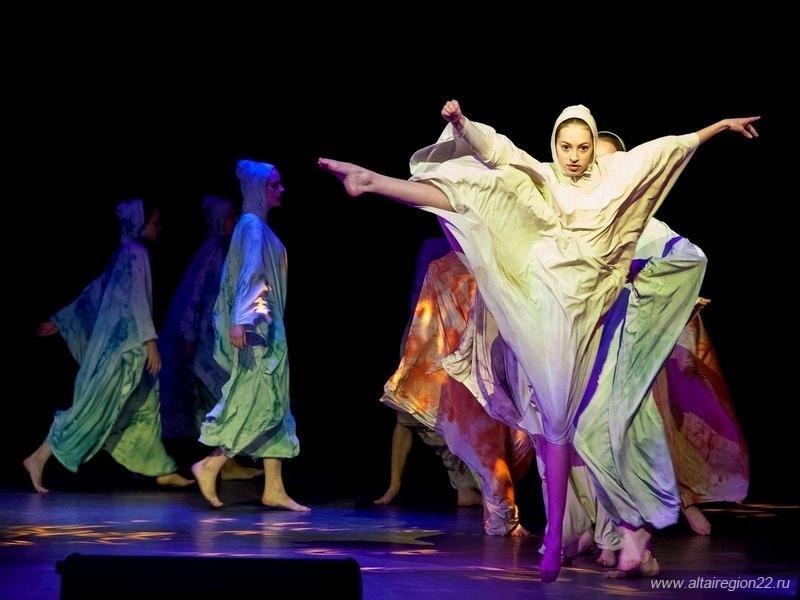 Фестиваль современного танца в Барнауле