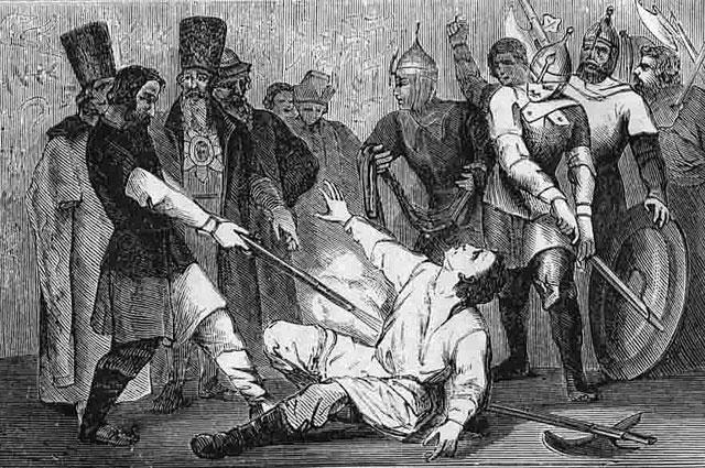 Лжедмитрий 1. Гравюра 1870