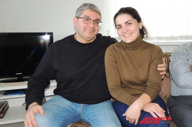 Маджид и Зарема поженились в России через месяц после знакомства.