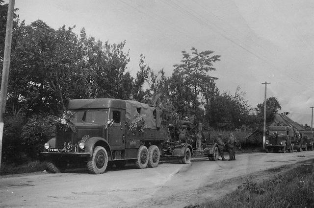 Автоколонна восставших. Лето 1944 года