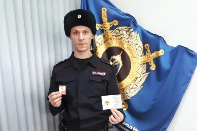 Илья Антошин первым в крае стал обладателем золотого значка ГТО.