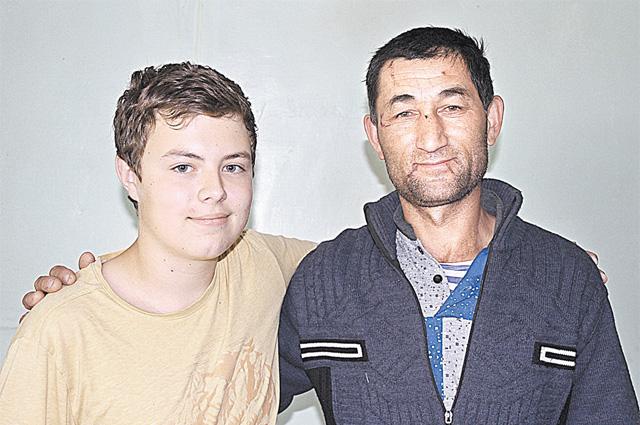 Антон Никонов и Махамаджон
