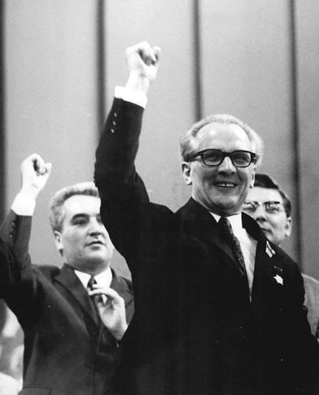 Эрих Хоннекер, 1971 г.