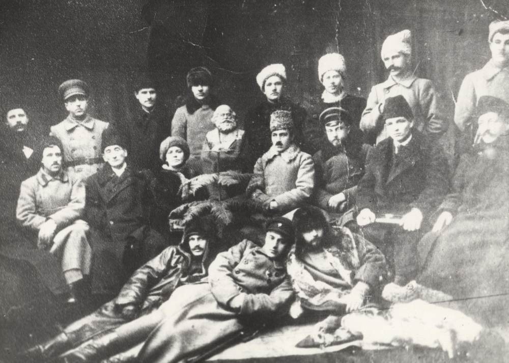 Члены исполкома Липецкого уездного Совета.