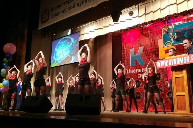«Алексей Сергеевич» зафиналил домашнее задание массовым танцем.