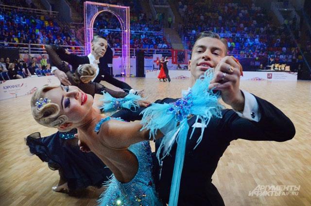 Танец - это изысканность и элегантность, если он в европейской программе.