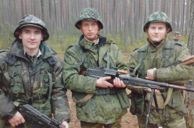 Дмитрий во время службы