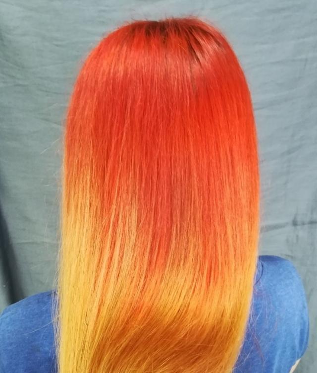 Длина волос не зависит от частоты стрижек.