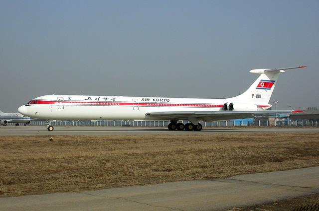 Ил-62М Air Koryo.