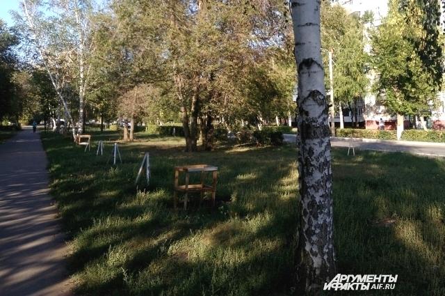 Так летом стала выглядеть улица Юных Ленинцев.