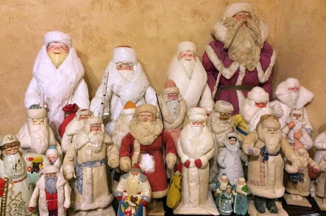 Ольга начала собирать советские новогодние игрушки пять лет назад.