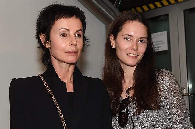Директор Театра на Таганке, актриса Ирина Апексимова с дочерью, актрисой Дарьей Авратинской.