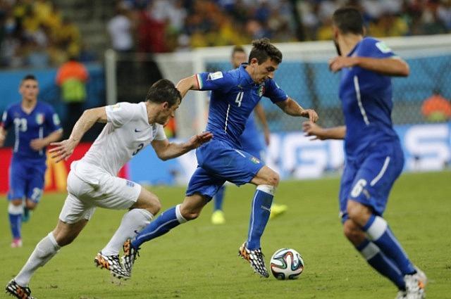 Матч Италия — Англия