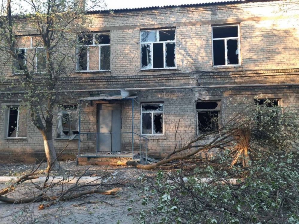 Больница в Красногоровке