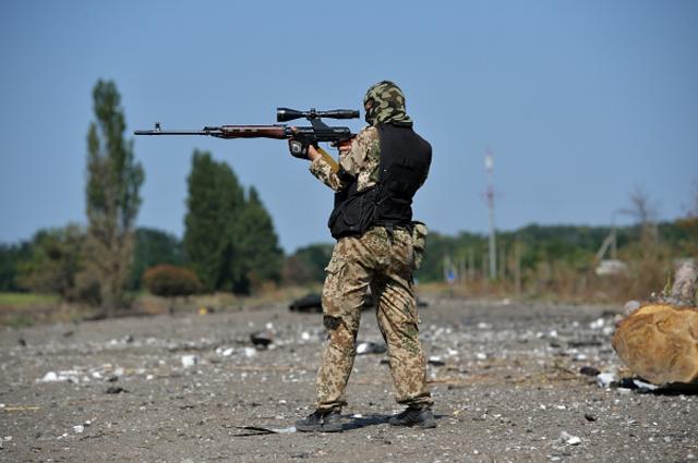 Ополченцы заявили, что отбили атаку украинских силовиков на Иловайск под Донецком