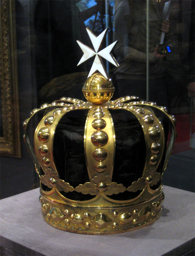Корона, изготовленная к посвящению Павла I в Великие магистры Мальтийского ордена. 1798 г