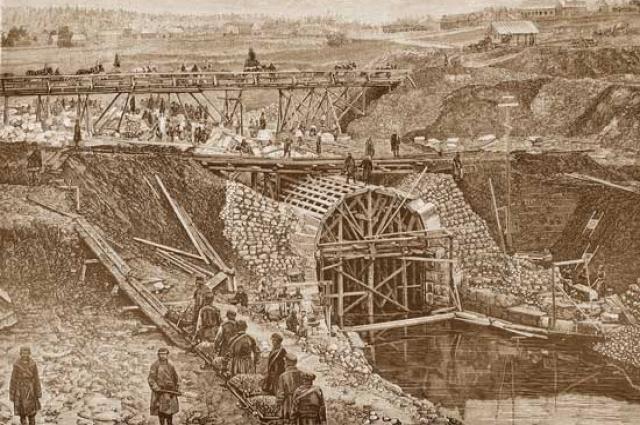 Рабочие умирали от тяжёлого труда и антисанитарии.