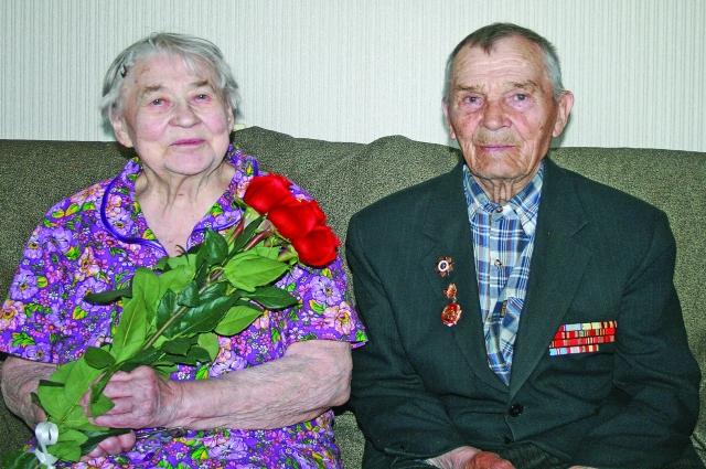 Супруги Сухопаровы вместе 70 лет.