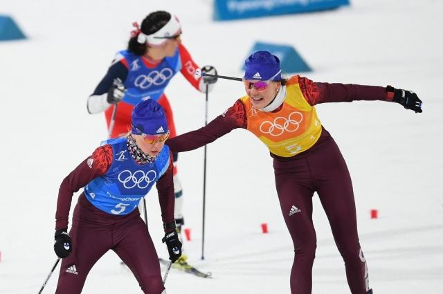 Нечаевская успешно прошла свой этап, став третьей.