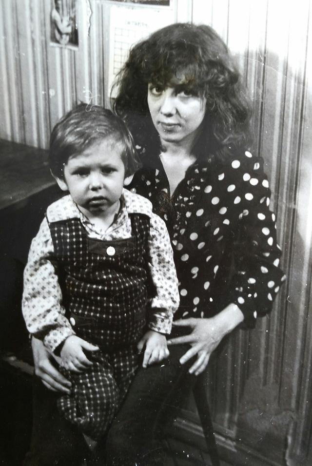 Наталья с сыном Евгением.