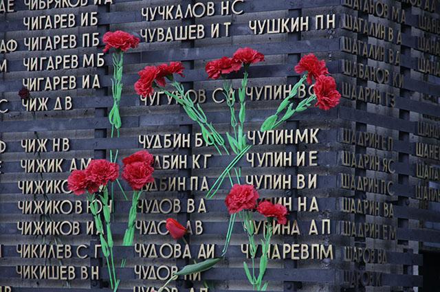 День памяти и скорби в Барнауле