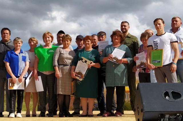 Жители Ульяновки.