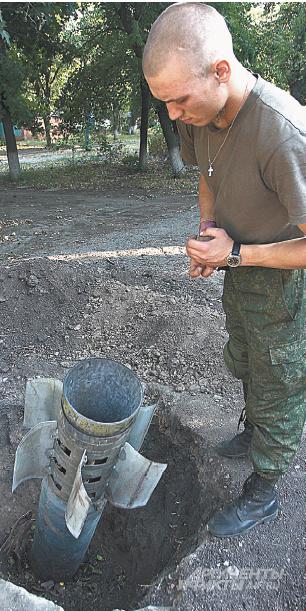 Еще один горячий привет от военных земле Донбасса