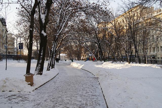 Сретенский бульвар в Москве