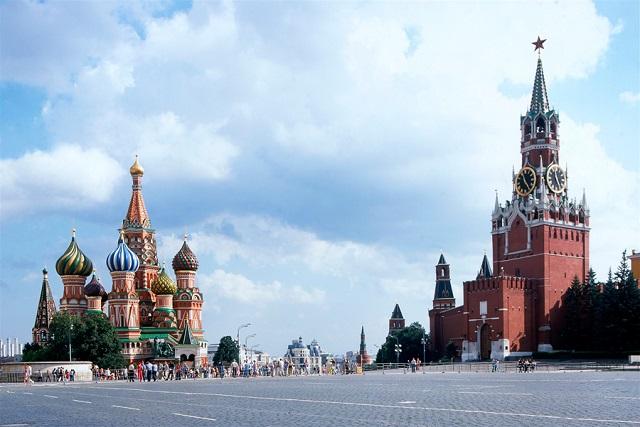 Кремль - конечная точка пешего путешествия Владимира Пономарева.