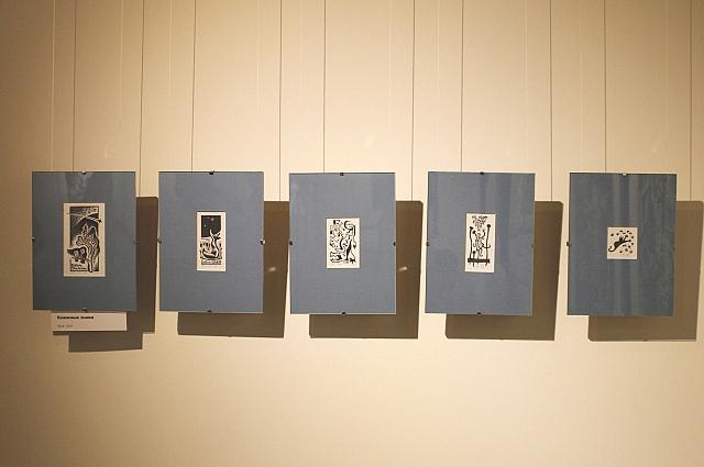 Выставка гравюр интересна особенно тем, кому  нравиться творчество художника.
