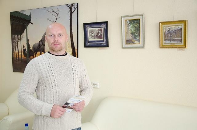 Пензенский художник Денис Коробков