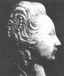 Мраморный барельеф, предполагаемый прижизненный портрет.