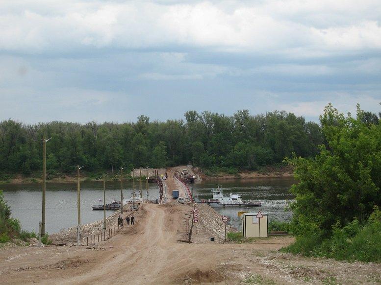 Мост в Малмыже