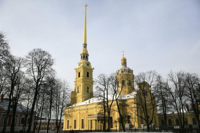 Работа над Петропавловским собором стала для Трезини одной из первых в России.
