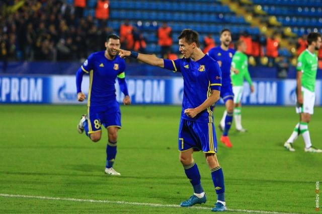 Дмитрий Полоз забил два мяча в ворота голландского чемпиона!