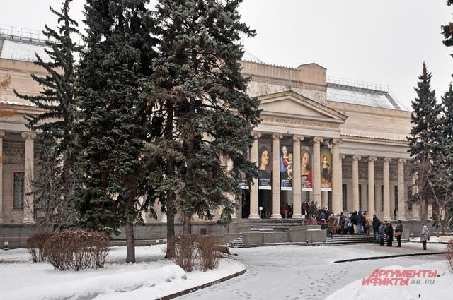 Создатель  Музея  изящных  искусств -  Иван Цветаев.